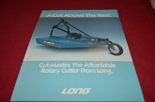 Long Tractor Cut Master 6 Rotary Cutter Dealers Brochure AMIL15