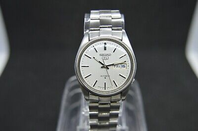 Beautiful Vintage Seiko 6309 8590 Automatic Bracelet Day Date Watch July 1981