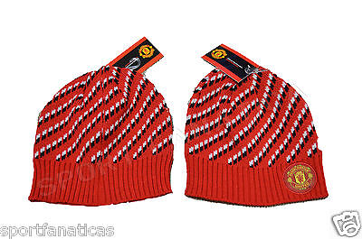 Manchester United Beanie - Beanie Skull  Manchester United  MUFC Winter hat Cap official licensed MUFC