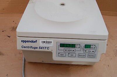 Eppendorf Centrifuge 5417c Microcentrifuge 20000 Rpm Laboratory Micro 5417 C