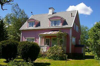 Ferienhaus in Schweden, Smaland, stilvolle Jugendstilvilla, Boot, Sauna