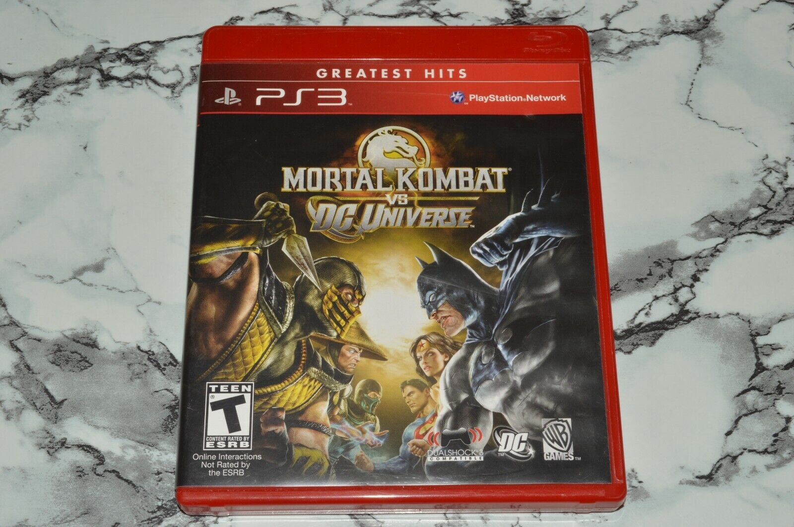 Mortal Kombat VS DC Universe Sony PlayStation 3 PS3 -- Complete W/ Manual - $11.18