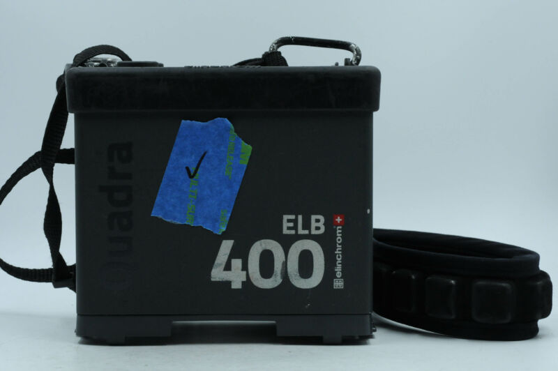 Elinchrom ELB 400 Power Pack Without Battery                                #360