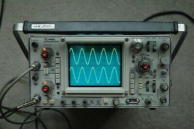 Tektronix 465 100mhz Oscilloscope Calibrated Sn B309551 With 2 Probes
