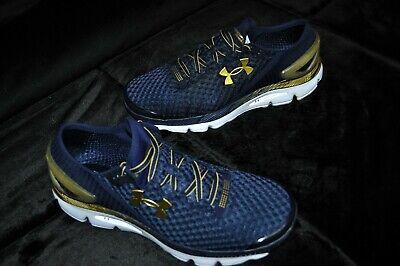 Men's Under Armour Speedform Gemini 2 (Notre Dame Color) Running shoes Size 12