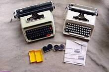 2 x Typewriters with cases and spare ribbons Adelaide CBD Adelaide City Preview
