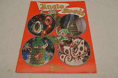 VINTAGE JINGLE BEADS Taurus craft pattern booklet- Beaded Christmas decorations