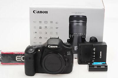 Canon EOS 60D 18MP Digital SLR Camera Body                                  #942