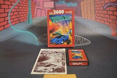 Fatal Run for Atari 2600 Vcs