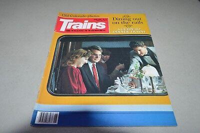 Trains Magazine railroad June 1990 Dinner Trains Colorado W&LE Austria