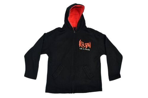 Rare Korn Life is Peachy Women's XL Zip Up Jacket With Hoodie