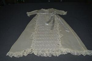 superbe ancienne petite robe de bapt me en organdi et. Black Bedroom Furniture Sets. Home Design Ideas