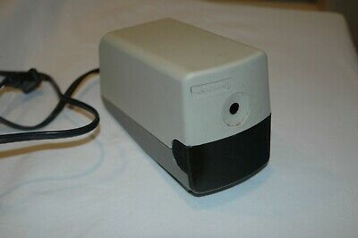 Vintage Boston Electric Pencil Sharpener Hunt Corp. Model 19 Made In Usa