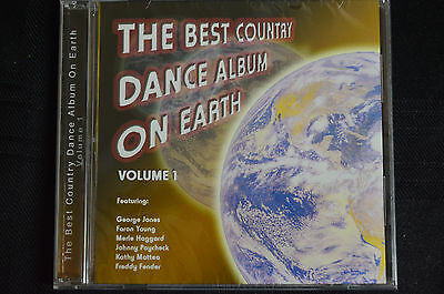 The best country dance album on earth VOL 1 - various  cd new and sealed