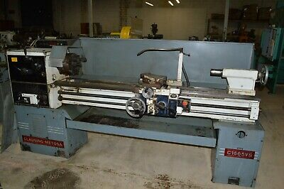 Clausing Metosa Model C1565vs 15 X 65 Gap Bed Geared Head Engine Lathe