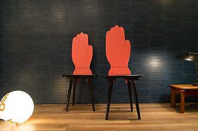 Paar 80s PROVITA Handstühle Handstuhl Stuhl 70er 80er Memphis Ära