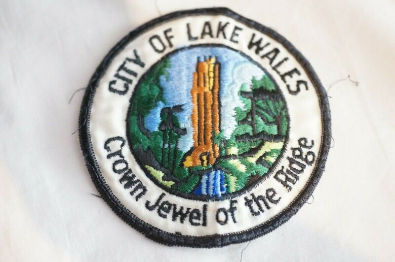 US City of Lake Wales Florida Police Patch