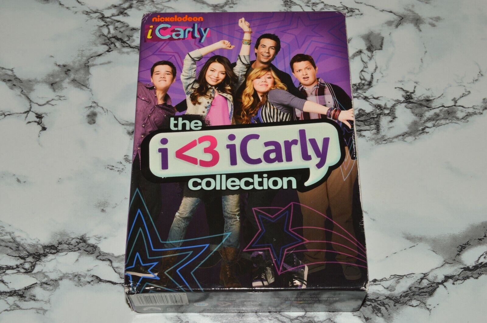 The I 3 ICarly I Carly Collection 3-Disc DVD Box Set, 2011 -- Please Read  - $12.68