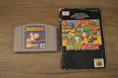 Jeu Game Yoshi story + notice Yoshi's pour console Nintendo 64 N64 version PAL