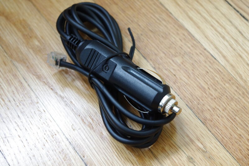 Car Power Cord /Charger For Escort 9500ix 9500i Straight Cord #7FT
