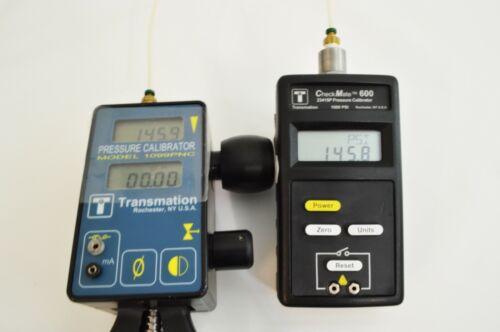 Transmation CheckMate 600 Precision Pressure Calibrator / Manometer - 1000 psi