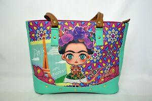 Frida Kahlo Handbag Fashion Bag Purse Shoulder
