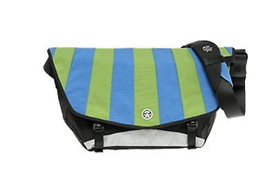 Crumpler CS-19A The Complete Seed  Messenger Bag(Black/gunmetal/lime/royal blue)