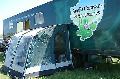 Caravan Motorhome Camping Accessories Kampa Rally 260 Porch Awning