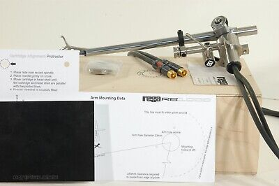 Rega RB808//RB1000//RB2000 Custom Designed Tonearm Cartridge Alignment Protractor