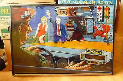 Scheibe von Flipper Taxi Williams 1988 Marilyn Monroe blond Flipperscheibe
