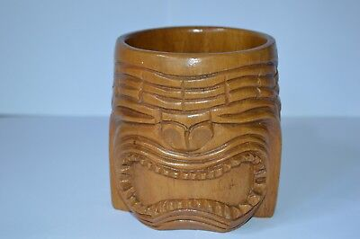 Разное OLD AFRICAN CARVED WOODEN CUP
