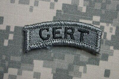NEW Military Patch US Army CERT Tab ACU Authentic Hook & Loop *