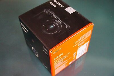 Sony Alpha ILCE-6300 24.2 MP Digitalkamera  Neu !