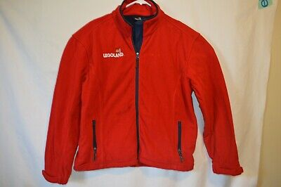 LEGO Legoland Florida California Fleece Zipper UNIFORM Jacket Men's Large Fleece Uniform