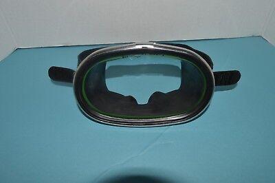 Vintage Nemrod Bermuda's Scuba Snorkel Swim Mask, Tempered Glass Very Nice