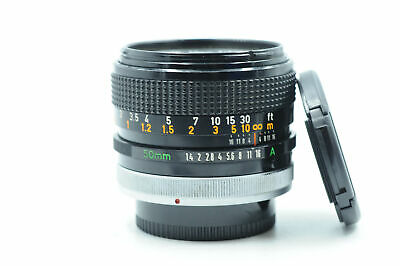 Canon FD 50mm f1.4 S.S.C. BL Lens 50/1.4 SSC                                #920