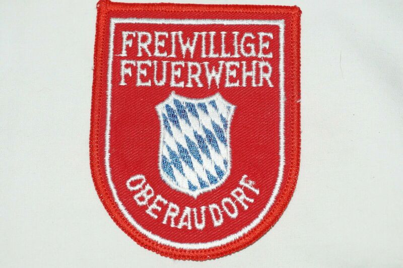 German Oberaudorf Fire Service Patch
