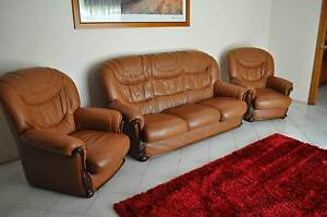 Three seater lounge with two matching one seaters Windsor Hawkesbury Area Preview