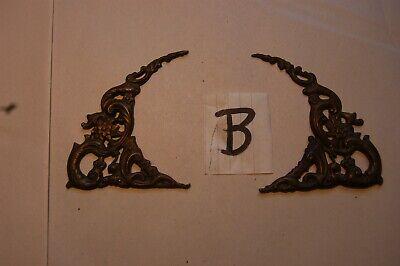Rococo spandrels for longcase clock