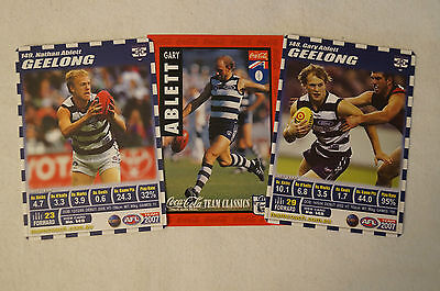 GEELONG CATS- GARY ABLETT- FATHER AND SONS - GARY jr. and Nathan.