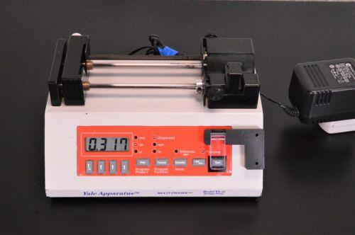 Yale Apparatus YA-12 programmable Microfluidics Syringe pump - New Era NE-1000