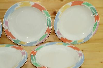 """Block Palette (2) Rimmed Soup Bowls, 8 3/4"""""""