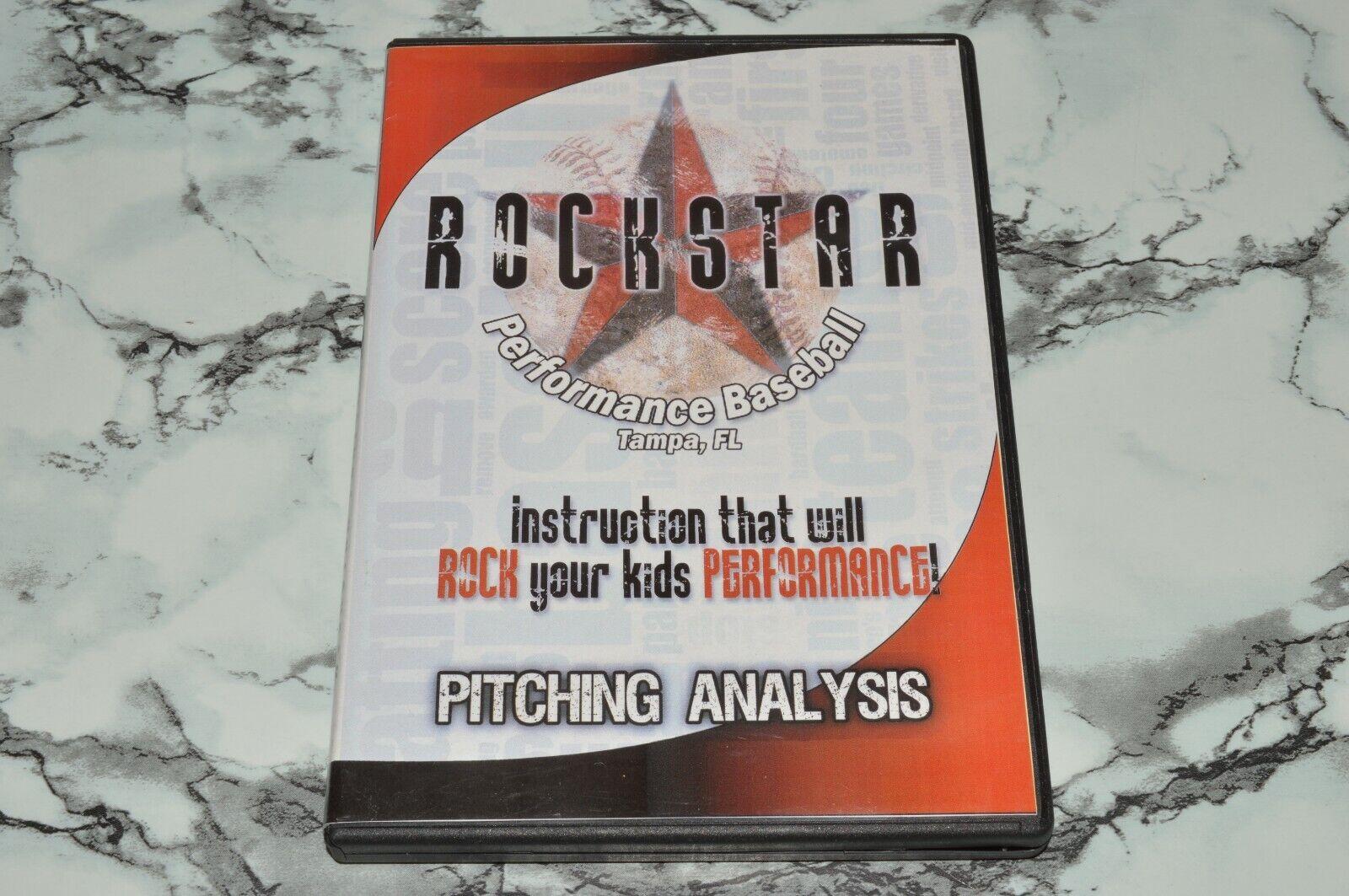 Rockstar Performance Baseball - Pitching Analysis DVD  - $12.68