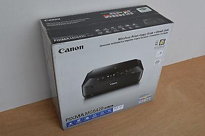 Brand New BLACK Canon Pixma MG6420 All-In-1 Inkjet Photo Printer...
