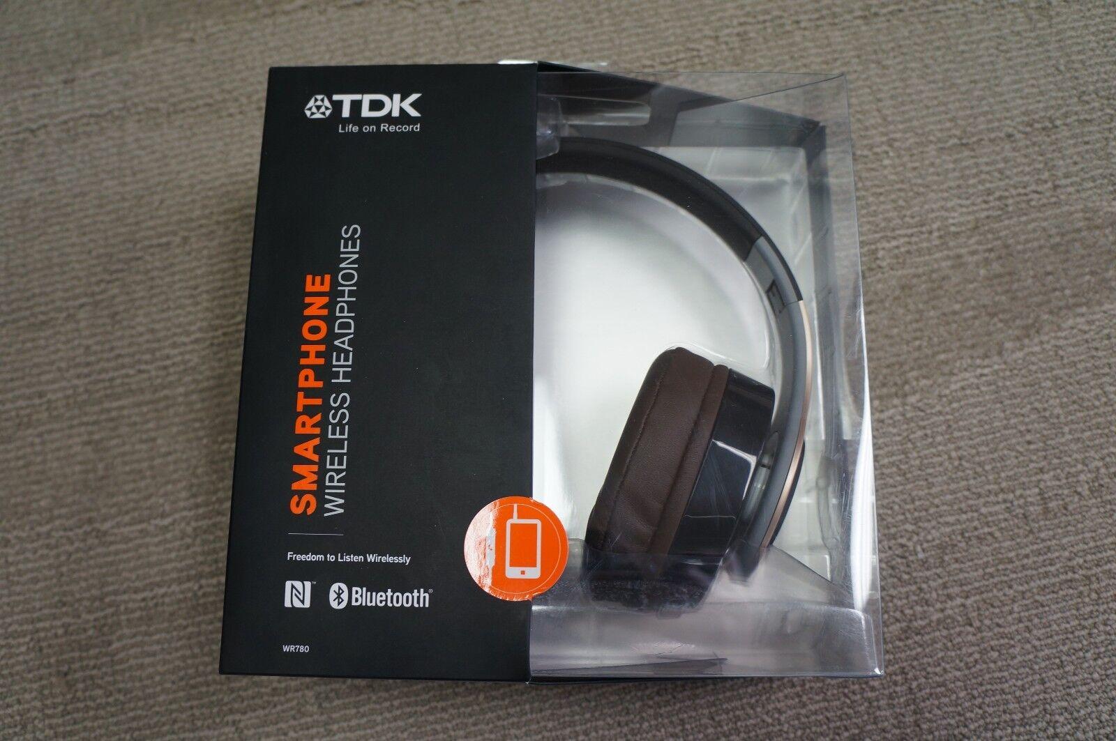Tdk Wr780 Bluetooth Over Ear Headphones - Blackgold