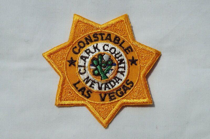 US Las Vegas Nevada Constable Police Patch Obsolete
