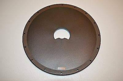 "GARRETT METAL DETECTOR ~ 9.5"" ~ ROUND SEARCH COIL COVER ~ BLACK ~ 1606500A ~ NEW"