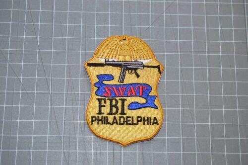 FBI Philadelphia SWAT Patch (B17-W)