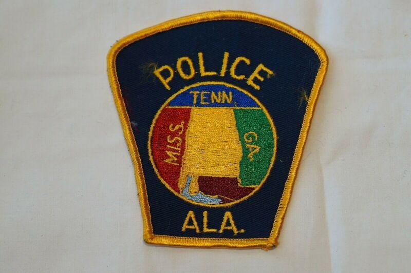 US Alabama Police Patch Obsolete