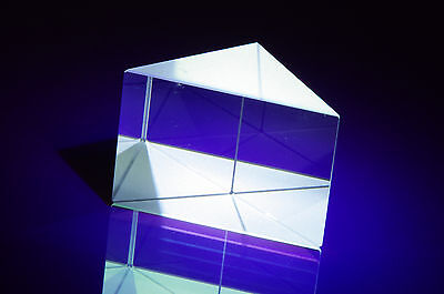 90° PRISMA 33.0 x 23.5 x 23.4 MM HQO + AR LICHT / LASER OPTIMAL UMLENKEN  #MD